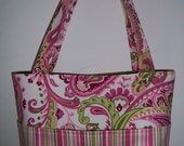 SALE Purse PDF Sewing Pattern - Aivilo Pocket Tote Bag in 4 Sizes -Instant Download - easy to sew