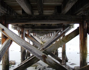 Under the Pier in Kittery ME Fort Foster