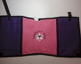 Therapy Dog Vest 60 to 80 pound