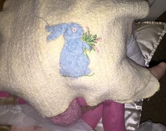 Antique Bunny Towel