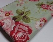 Fat Quarter Robyn Pandolph Hannah Bella 90112-737 on Sage Quilting Sewing Fabric OOP Out of Print Fabrics Quilters Textiles Cabbage Rose