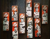 PRIVATE LISTING San Francisco Giants Paintings Set of 5