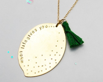 Lemon Love Necklace