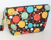 Bubble Print Knitting Project Bag