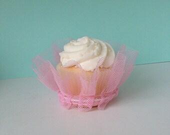 Birthday Party Mini Size Cupcake Tutu Cupcake Wrapper for Birthday Party or Ballerina Party for Ballet Set of Six