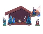 "Nativity Set - Made to Fit American Girl / 18"" Doll - CHRISTMAS DOLL ACCESSORIES - 9 Pieces!"