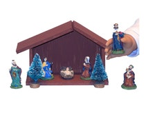 AMERICAN GIRL ACCESSORIES - Christmas Nativity Set - 9 Pieces