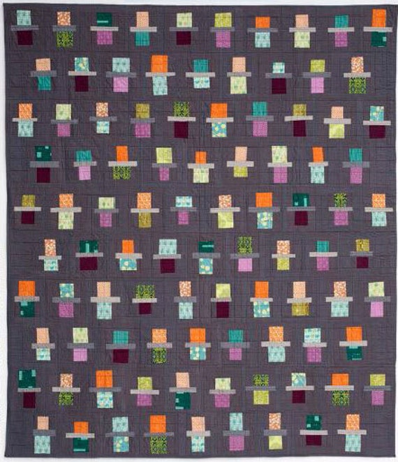 Quilting with a Modern Slant: People, Patterns, and Techniques Inspiring the Modern Quilt Community by Rachel May