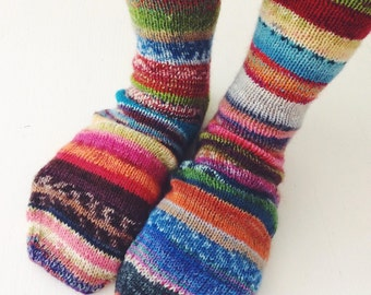 Handknitted women's socks / reserved listing for Claudia Trexler