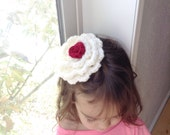 Kids food costume, whipcream with a cherry on top, toddler halloween costume, baby halloween costume, cupcake costume