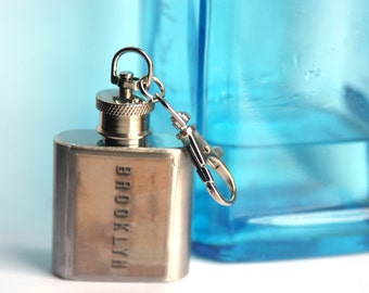 HIP FLASK - Brooklyn Bridge Flask - 1oz
