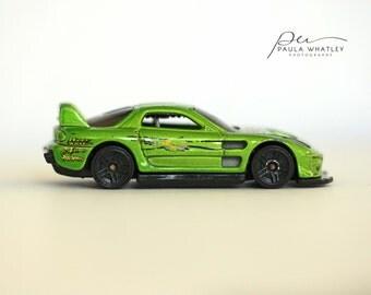 car art, boys nursery art, boy nursery decor, auto decor, auto art, race car print, green decor, boys room art, race car decor. man cave art