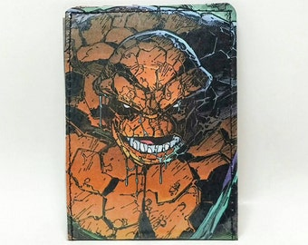Sewn Comic Book Wallet - Fantastic Four - Thing