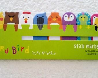 Sticky Marker/Sticky Note Memo - Yuru Bird