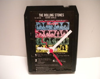 Rolling Stones.......Some Girls.... 8 Track Tape Clock