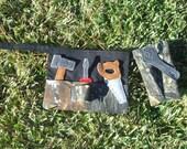 Camouflage tool belt