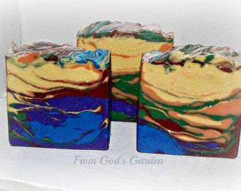"""Handmade cold process soap """"In the Begining"""""""