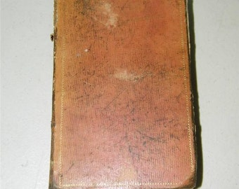Vintage Antique Lexicon of Useful Knowledge Book 1833 12181