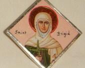 St Brigid Pendant Bridget of Ireland inv1655