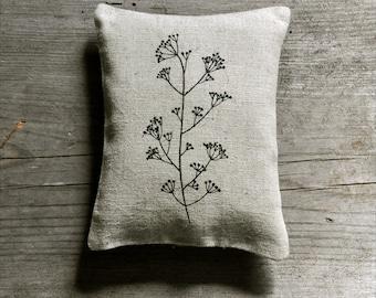 homegrown organic lavender sachet - Fennel
