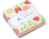 25% off SALE Sundrops Mini Charm Pack, Corey Yoder for Moda, Precut 2.5 inch squares of the Entire Line, Mini Charm Square, Patchwork