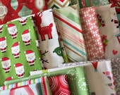 SALE Scrap Fabric, Christmas Scrap Fabrics, Pack of Designer Fabric, Fabric Shoppe fabrics. Best Seller! Limited quantity of these!! 1/2 LB