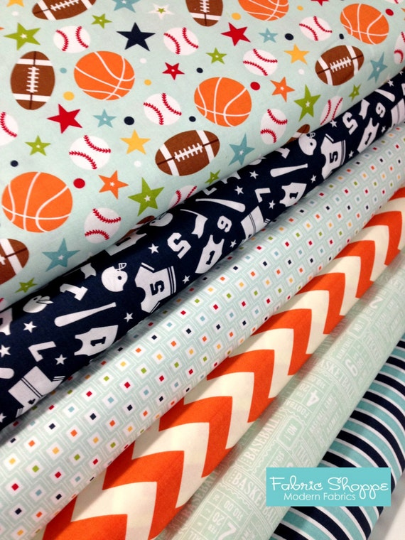 Sports fabric boy fabric football fabric boy nursery play for Boy nursery fabric