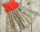 Central Park Junie dress RTS ready to ship size 7 ON SALE