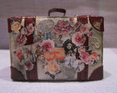 Blythe Small Shabby Chic Suitcase