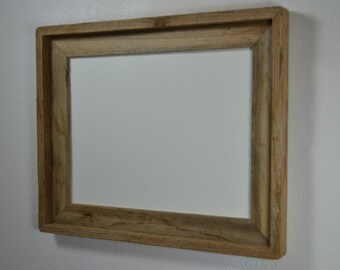 10x13  wood frame rustic chic wall decor