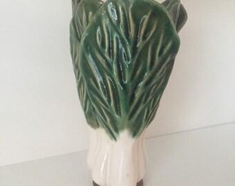 Vintage Onion Scallion Vase