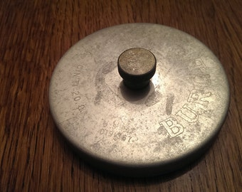 Vintage Aluminum Hamburger Press