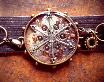 The Steampunk Kaleidescope Bracelet