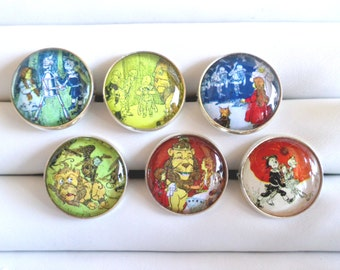 Wizard of Oz Adjustable Rings - Choose from 6 Designs