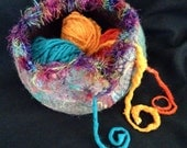 Margi's Jumbo Felt Yarn Bowl and Custom Made for You