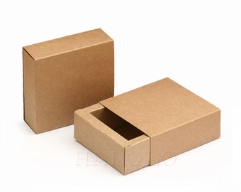 20 pieces of Paper Boxes, Kraft Paper Box,Packing,Wrapping Jewelry