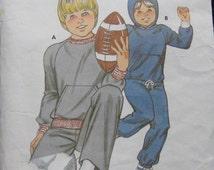 Kwik Sew Boys Jogging Suit Pattern 1149