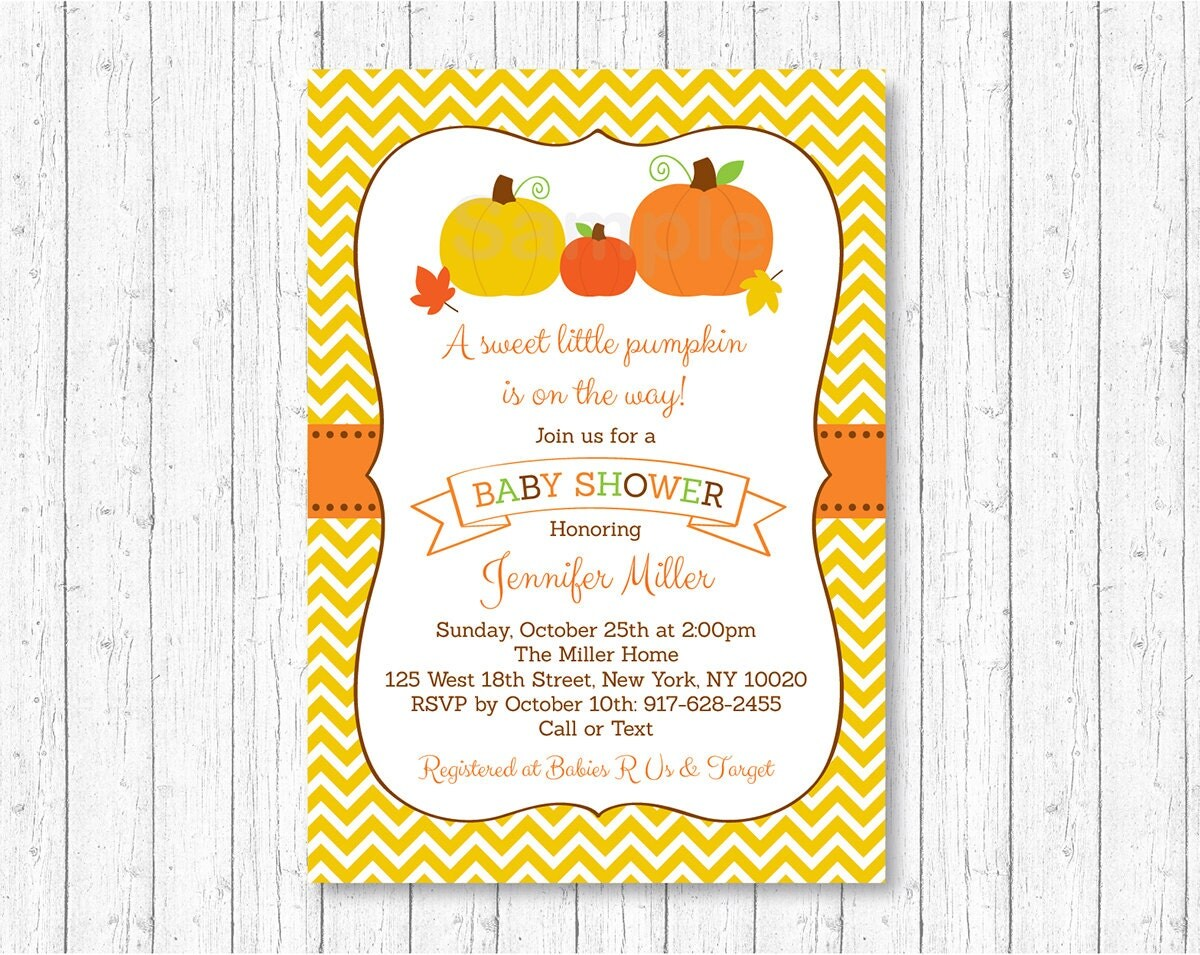 pumpkin baby shower invitation pumpkin baby shower fall
