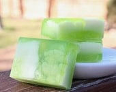 Citrus Basil Soap - Handmade  Olive Oil, Aloe, and Shea Butter Soap