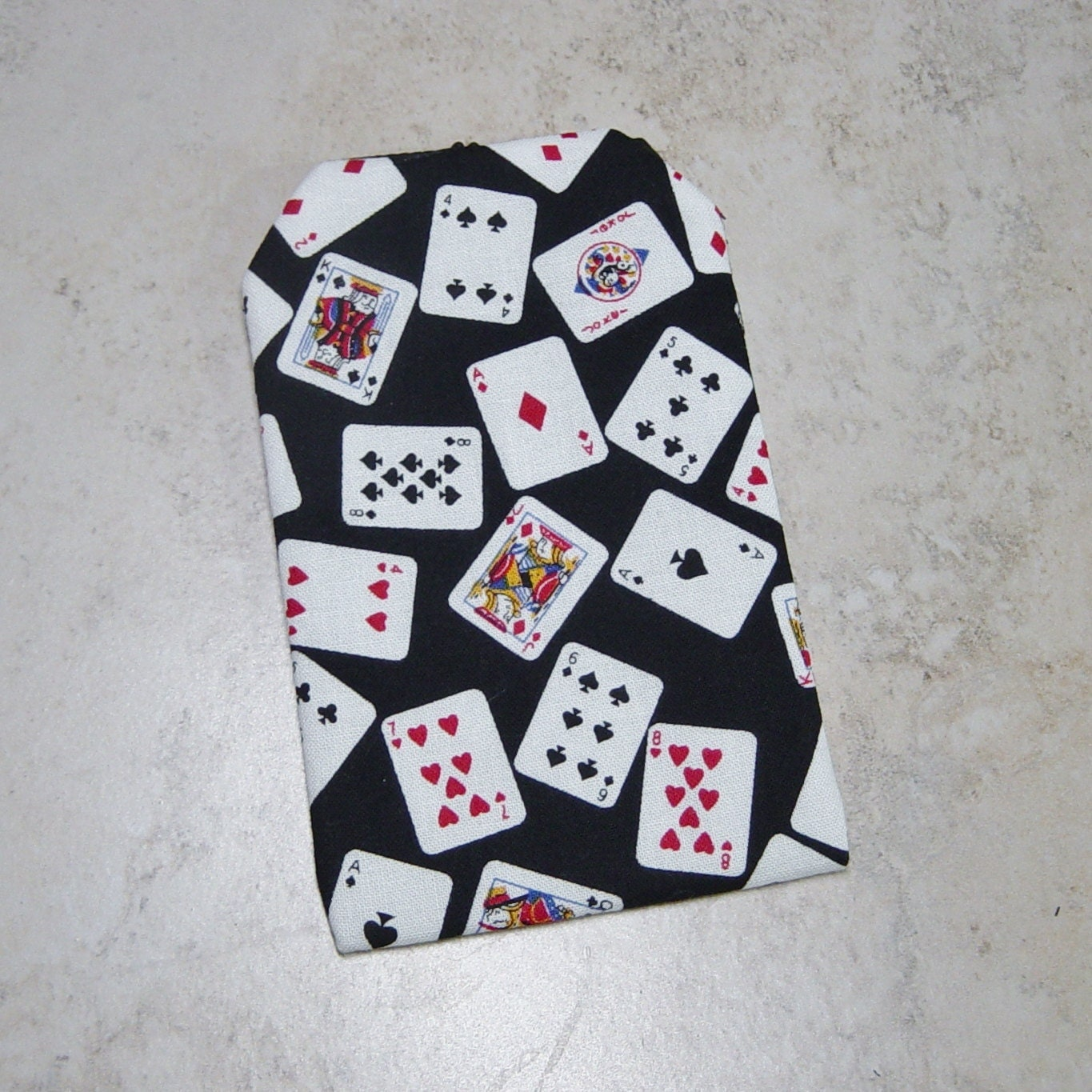 Business Card Case,Playing Cards Fabric Case,Credit Card Purse ...