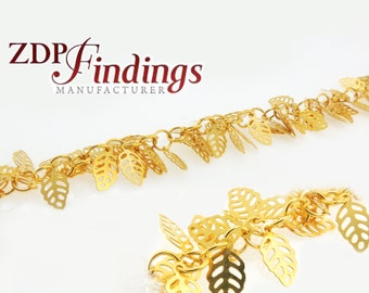 1Meter High Quality Leaves Fashion Chain Links (D4180000735)