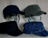 4 Army Hats - custom order