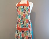 Alex - 60s style owl apron