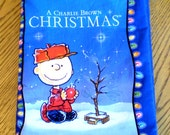 A Charlie Brown Christmas cloth book