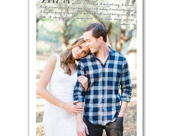 Gifts for him First Dance Lyrics/ Custom Canvas / Your Wedding Photo with your Lyrics/ Vows/ Photo Gift ideas/ Personalized Couple