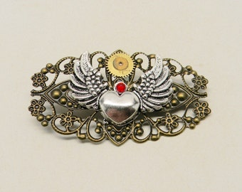"""Shop """"steampunk jewelry"""" in Brooches"""
