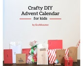 Crafty Advent Calendar for Kids-  12 days till Xmas Countdown (PRE-ORDER)