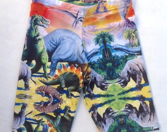 Dinosaur Short Leggings