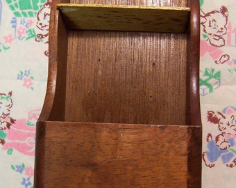 miniature wooden shelf