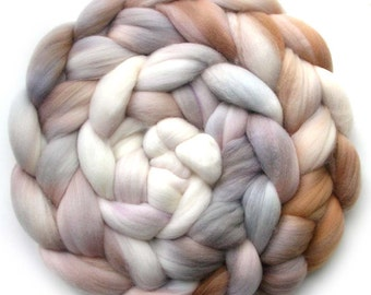 19.5 Micron Superfine Merino Roving Handdyed Combed Top, So Soft, 5.2 oz.